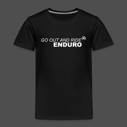 wyjdź i jedź enduro bk - Koszulka dziecięca Premium