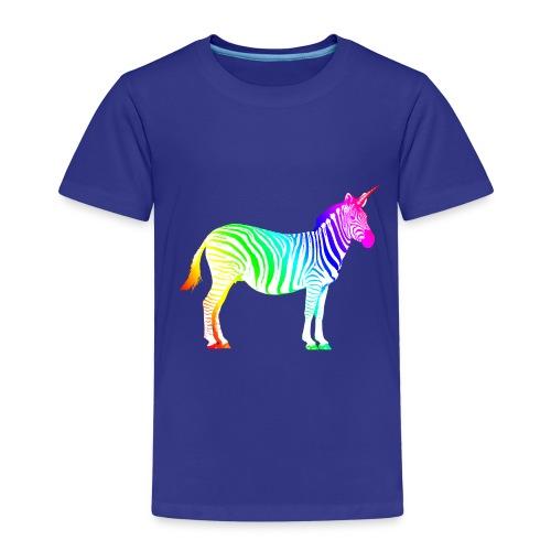 Zebra Einhorn Unicorn Regenbogen Zauber Magie - Kids' Premium T-Shirt