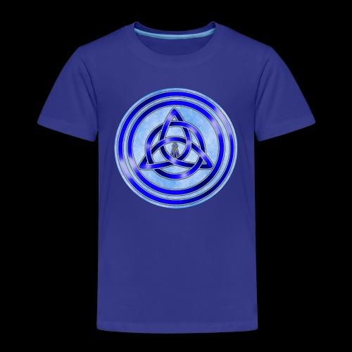 Awen Triqueta Circle - Kids' Premium T-Shirt