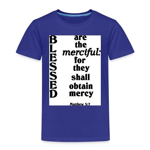 Matthew 5 7 - Kids' Premium T-Shirt