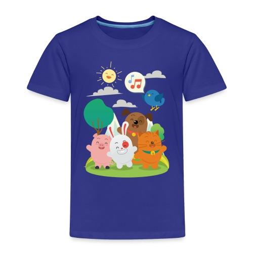 kidz3 png - Kids' Premium T-Shirt