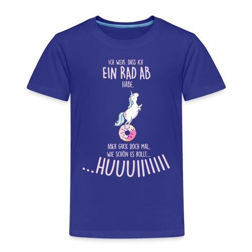 Vorschau: rad ab_einhorn - Kinder Premium T-Shirt