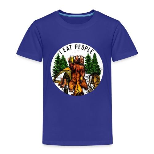 I Hate People Camping Hiking Here - Kinderen Premium T-shirt