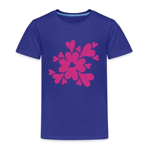 HJÄRTAN - Premium-T-shirt barn