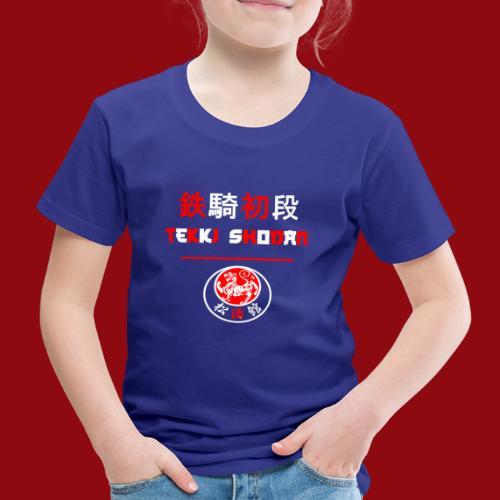 Tekki Shodan - Shotokan Kata - Karate - Japan - Kinder Premium T-Shirt