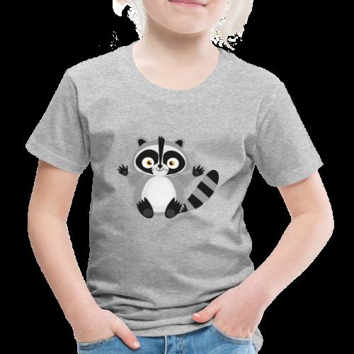 Süsser Waschbär - Kinder Premium T-Shirt