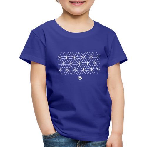 Alien Muster - Kinder Premium T-Shirt