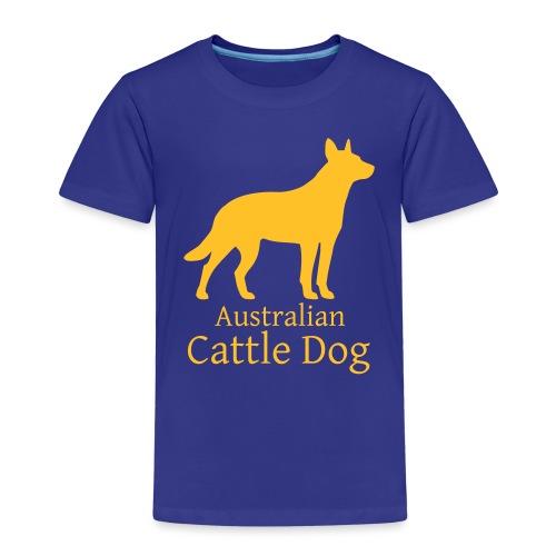Australian Cattle Dog - Kinder Premium T-Shirt