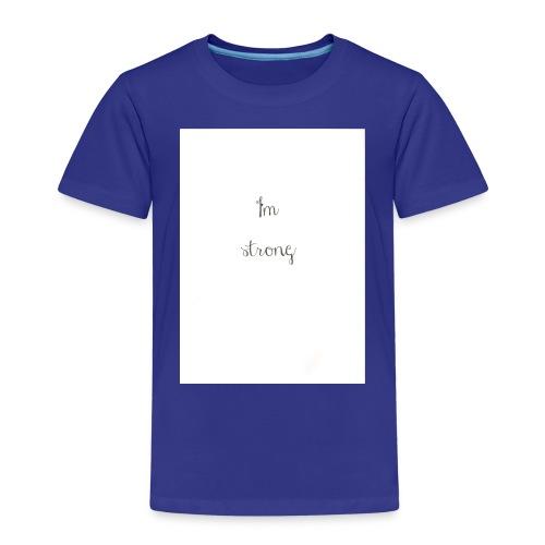 I'm strong - Maglietta Premium per bambini
