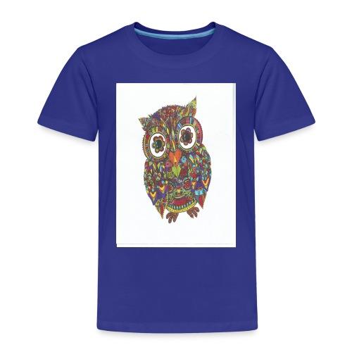 Uglen - Børne premium T-shirt
