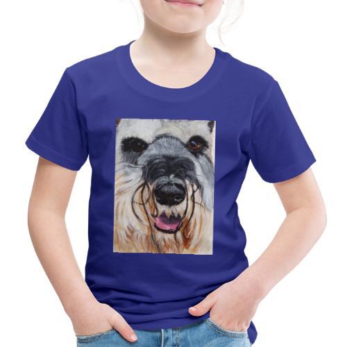 schnauzer - Børne premium T-shirt