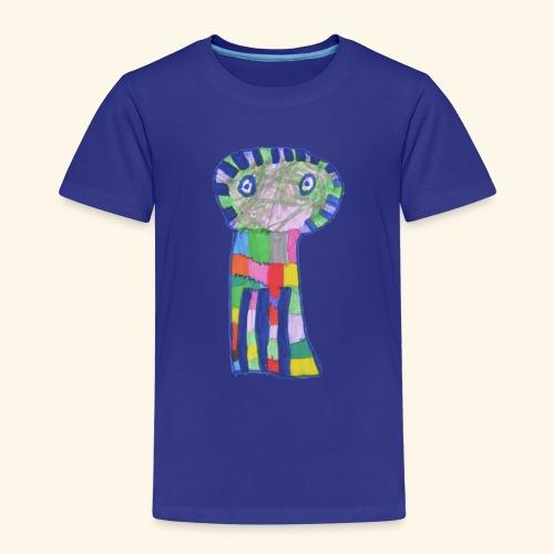 mostro a colori - Maglietta Premium per bambini