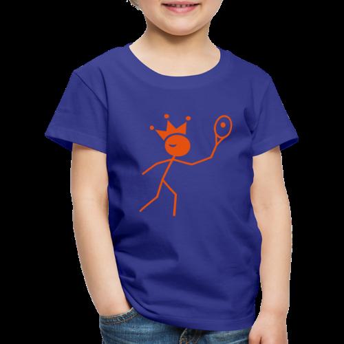 Tenniskoning - Kinderen Premium T-shirt