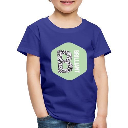 B brilliant green - Kinderen Premium T-shirt