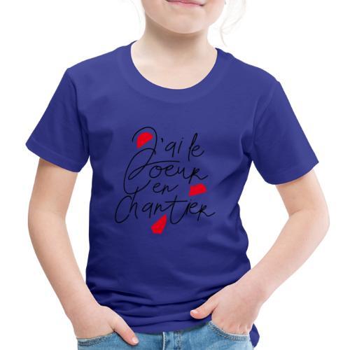 coeur en chantier - T-shirt Premium Enfant