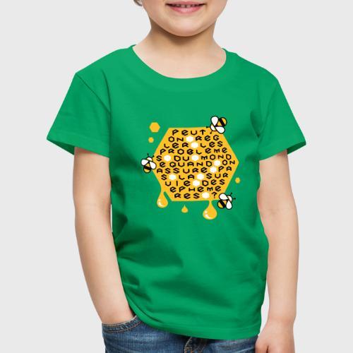 Sauver les abeilles - T-shirt Premium Enfant