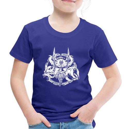 Wikinger, Viking Logo White, galdur - Kinder Premium T-Shirt