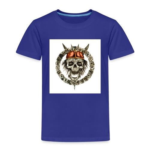 viking skull runes - T-shirt Premium Enfant