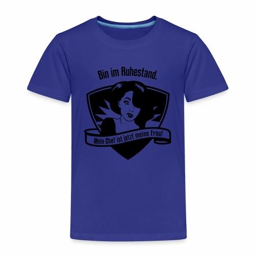 Ruhestand Comic - Kinder Premium T-Shirt