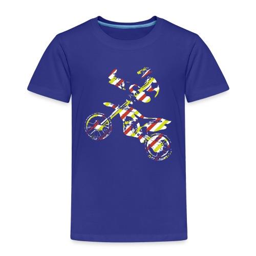 FMX Freestyle Motocross Shaolin - Kinder Premium T-Shirt