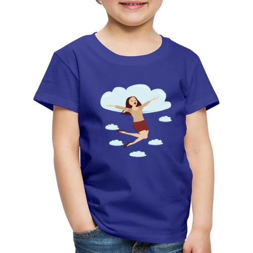 In de wolken - T-shirt Premium Enfant