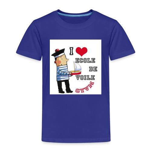 bonhomme badge3 - T-shirt Premium Enfant