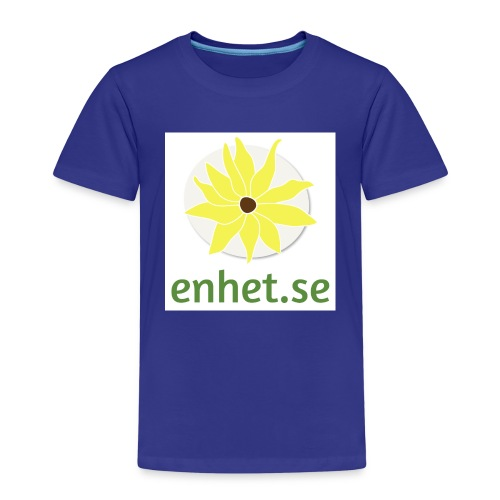 Enhet_logotyp_hq_text_und - Premium-T-shirt barn