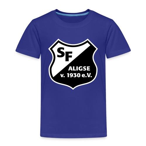 SFA_Wappen_schwarz weiß - Kinder Premium T-Shirt