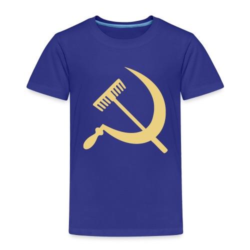 Falce e rastrello, sickle and rake! - Maglietta Premium per bambini