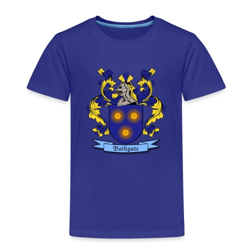 Bathgate Family Crest - Kids' Premium T-Shirt