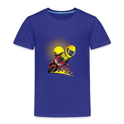 0791 fjr ROOD sun - Kinderen Premium T-shirt