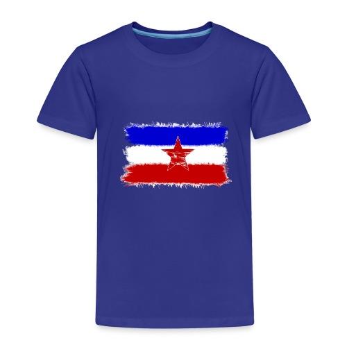 Jugo Flagge 1 Handy png - Kinder Premium T-Shirt