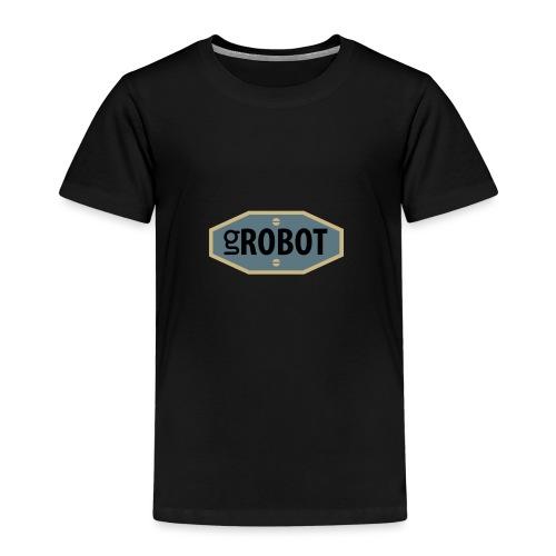 gRobot Logo - Maglietta Premium per bambini