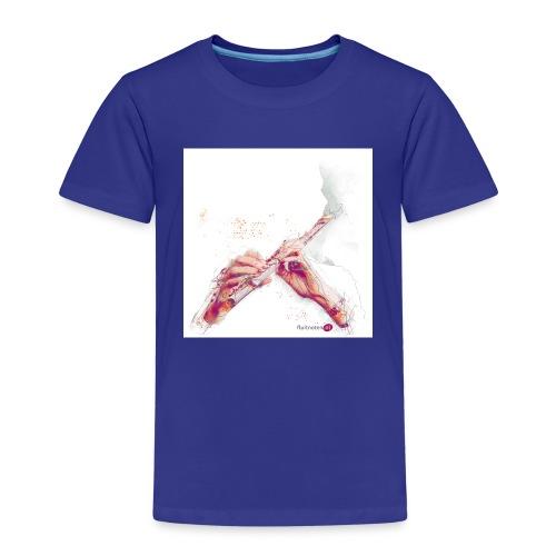 fluitnoten mok - Kids' Premium T-Shirt