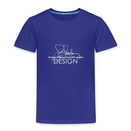sasealey design logo wht png - Kids' Premium T-Shirt