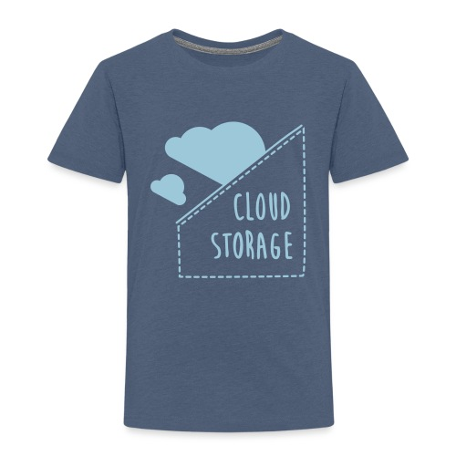 Cloud Storage - Kinder Premium T-Shirt
