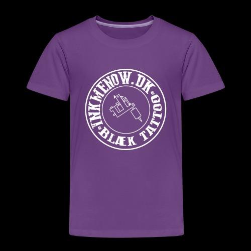 logo hvid png - Børne premium T-shirt