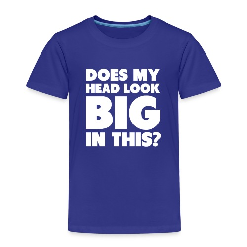 Spreadshirt BIG HEAD - Kids' Premium T-Shirt