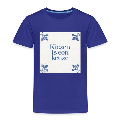 Herenshirt: kiezen is een keuze - Kinderen Premium T-shirt