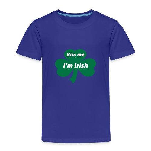 Kiss me I'm Irish - Kinder Premium T-Shirt