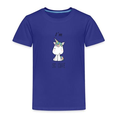 CUTE UNI FOR KIDS - Camiseta premium niño