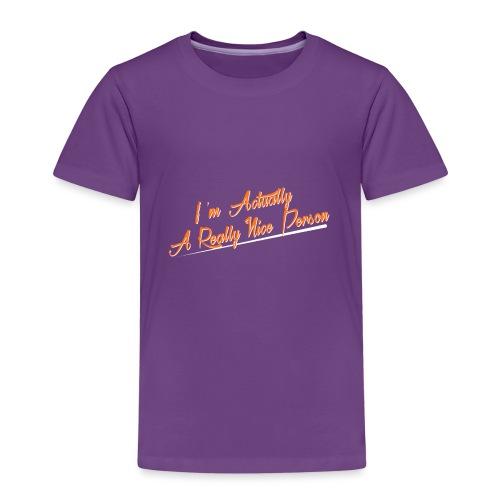 nice-person - Kids' Premium T-Shirt