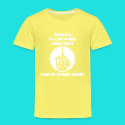 LKW-Fahrer - Kinder Premium T-Shirt