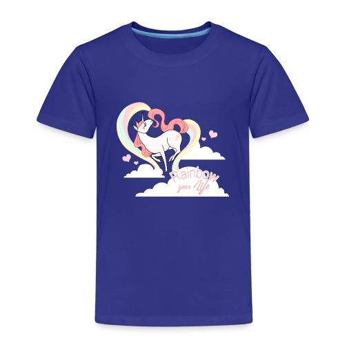Rainbow Your Little Life - Kinder Premium T-Shirt