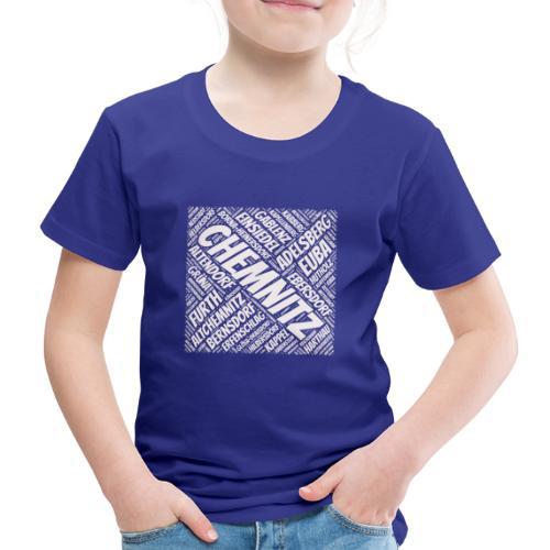 Chemnitz Stadtteile - Kinder Premium T-Shirt
