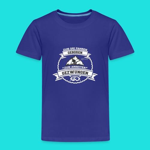 Skifahren Gezwungen 2 - Kinder Premium T-Shirt