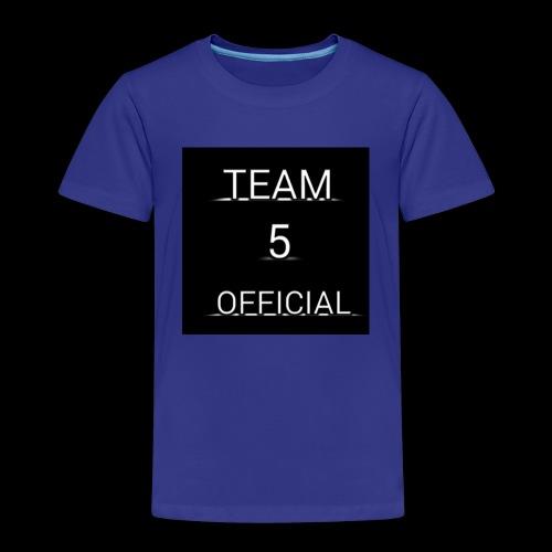 Team5 official 1st merchendise - Kids' Premium T-Shirt