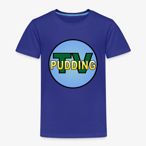 Pudding-TV - Premium T-skjorte for barn