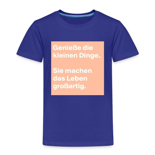 Sprüchekleidung - Kinder Premium T-Shirt
