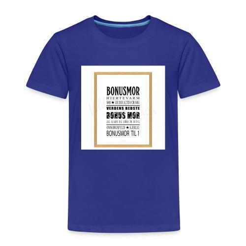 Bonusmor - Børne premium T-shirt